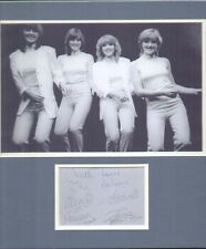 THE NOLANS SIGNED AUTOGRAPHS