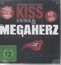 Kiss Lounge & Megaherz Live @ Wacken 2012 4CD + DVD NEU Alexander Lex Wohnhaas