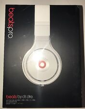 Beats Pro Over-Ear Headphones (White/ Silver) Free Postal Insurance