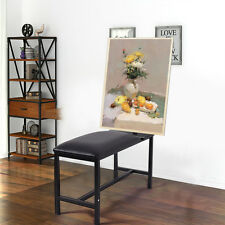 Table à dessin Tabouret métal PU hauteur réglable studio dessin en acier