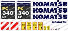 KOMATSU PC340LC DIGGER DECAL STICKER SET