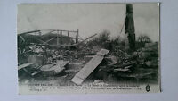 WW1 Battle of the Marne France B&W 1914-5 Postcard Courdemanges Town Hall
