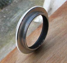 zenith practika  fit  m42  reverse ring to 49mm filter macro coupler