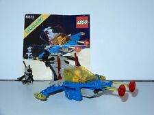 LEGO SPACE No 6872 XENON X-CRAFT / LUNAR PATROL 100% COMPLETE + INSTRUCTIONS