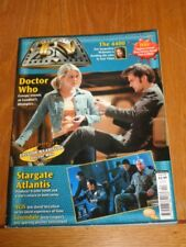 TV ZONE #204 DOCTOR WHO STARGATE ATLANTIS 4400 UK MAGAZINE =