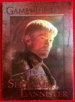 GAME OF THRONES Season 4 FOIL PARALLEL Card #46 - SER JAIME LANNISTER-
