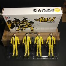 Threea 1/12 Yellow Hornets Tk Ashley Wood 4 Pack Tomorrow King