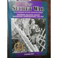 History 4th Battalion RAR Malaysia Indonesian Confrontation 1965-67 new Book