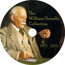 William Dean Howells Audiobook Collection in English on 1 MP3 DVD Free Shipping