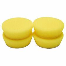 Buff and Shine Uro-Tec Yellow Polishing Foam Pad- 2 inch 234BN (4-Pack)