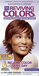 Dark and Lovely Reviving Colors Hair Color Kit #393 Spiced Auburn