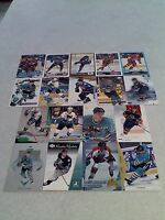 *****Sandis Ozolinsh*****  Lot of 125+ cards.....54 DIFFERENT / Hockey