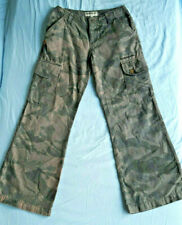 Quiksilver Boys pants trousers - Size 12 - Black Cameo 291 boy 100% cotton rare