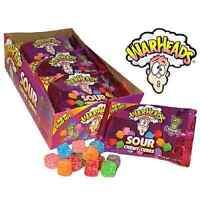 Original War Heads Sour Flavour Cubes American Candy Sweets 22G 70G 141G