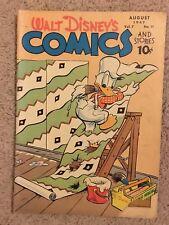 Walt Disney's Comics & Stories #83 (1947) Donald Duck (3.5 VG-) Carl Banks Art.