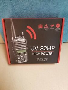 Digital Handheld Radio BaoFeng UV-82HP High Power Dual Band Portable Two-Way