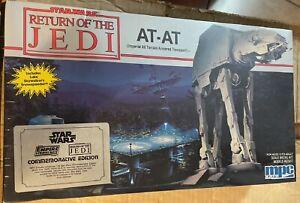"""Star Wars Model Kit MPC/ERTL  ROJ AT-AT Walker New in 14""""x8"""" Sealed Box"""
