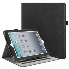 For Apple iPad 2 / 3 / 4th Gen Case Multi-Angle Folio Smart Cover Stand w Pocket