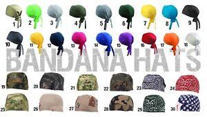 Bandana Hat - Headwrap - Kopftuch - Piratentuch - Biker - camouflage