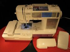FANTASTIC BROTHER SE-400 COMPUTERIZED SEWING AND EMBROIDERY MACHINE - WORKS !