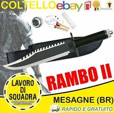 Coltello Rambo 2 First Blood Part II John Caccia Pesca Marina Militare Outdoor
