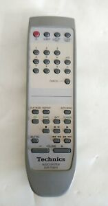 TECHNICS EUR7702010 REMOTE CONTROL FOR HI-FI AUDIO SYSTEM - TESTED & WORKING