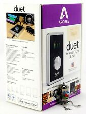 Apogee Duet USB Audio Interface für Windows iPad iPhone Mac +OVP+ 2J Garantie