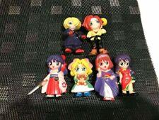 ANIME MANGA Doll Figure Vintage set of 6 Japan Toy Rare Kimono