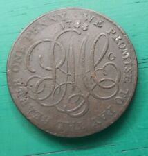 More details for 1788 penny anglesey parys mines copper token #603