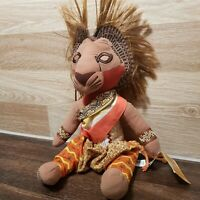 "The Lion King Simba Plush Large Toy Broadway Musical Souvenir 20"" tall African"