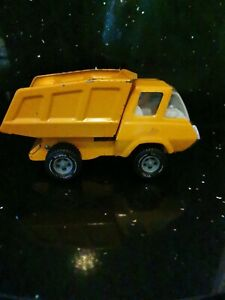 "Vintage '70s Metal Tonka Dump Tipper Truck Lorry. 8.5"" Long 4.5"" High. Orange"