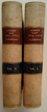 STANLEY H. M. - NELL'AFRICA TENEBROSA - Ed. TREVES Milano, 1890 - 2 volumi
