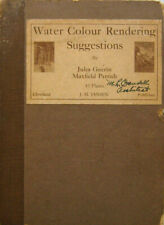 Jules Plate Book Guerin / Water Colour Rendering Suggestions First Edition 1917