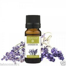 LAVENDER ESSENTIAL OIL 10 ml - 100% ORGANIC - sleep and calm the nervous system