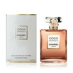 Chanel Coco Mademoiselle Intense Eau De Parfum 100 ml. / 3.4 fl. oz. New