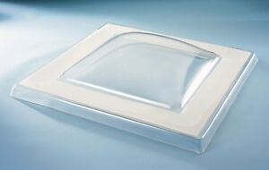 Mardome Rooflight Reflex Dome -Polycarbonate Flat Roof Skylight - various sizes