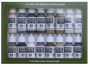 (VAL70144) - AV Vallejo Model Color Set - Equestrian Colors (x16)