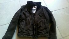 Men's Abercrombie & Fitch ADIRONDACK Jacket Heavy Fur BROWN Military M Medium