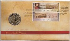 More details for coin & stamp cover  2010 australian  1 dollar coin lachlan macquarie  auspost