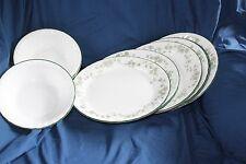 Corelle Callaway Ivy 8 Large Plates 8 Cereal Soup Bowls