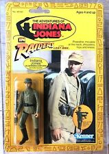 TOY KENNER INDIANA JONES GERMAN MECHANIC CARDED NEAR MINT CONDITION +