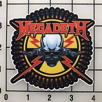 "Megadeth 4"" Wide Multi-Color Vinyl Decal Sticker - BOGO"