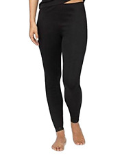 CLEARANCE!! Cuddl Duds Softwear Lace Legging Black Size Small