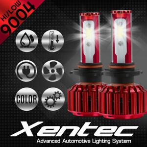 XENTEC LED Headlight Conversion kit 9004 HB1 6000K for 1987-1996 Toyota Tercel