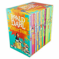 ROALD DAHL Collection 15+1 Books Box Set 16 Fantastic Stories New