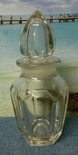 Small Clear Cut Glass Decanter