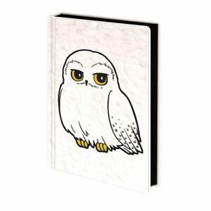 Harry Potter Hedwig Fluffy Premium A5 Hardback Notebook Journal Exercise Book
