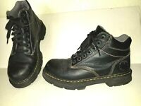 Nice Black DR MARTENS Tacoma Size 9 Lace Up  Boots
