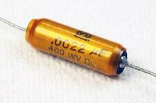 JENSEN Vintage .0022uF 400V Aluminum Foil, Paper-in-Oil Capacitor (OA/OPA) 79786