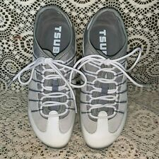 TSUBO WOMENS IVORY/GRAY ATHLETIC SHOES SIZE EU 36,US 6